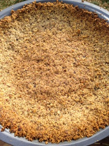 huckleberry thinn walnut pie crust
