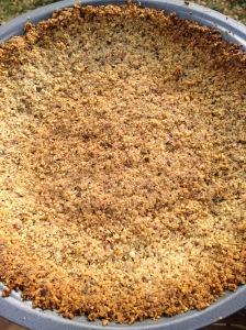 huckleberry thinn walnut pie crust