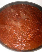 guajillo and ancho chilie sauce 3