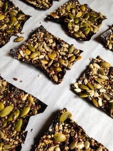 Huckleberr Thinn's Seed Weed Snacks 1